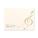 G.C.PRESS カード 004−67 レッテラ デッラ ムジカ THANK YOU│カード・ポストカード メッセージカード