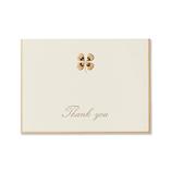 G.C.PRESS カード 005−32 四葉のクローバー THANK YOU