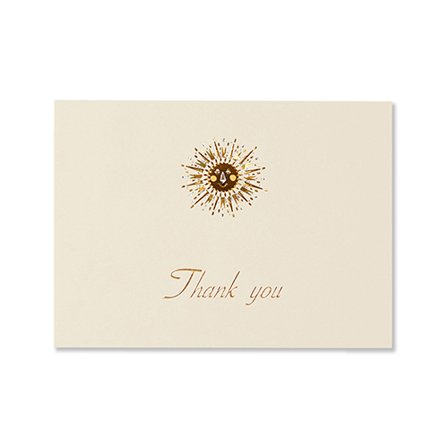 G.C.PRESS カード 太陽 005-62 THANK YOU