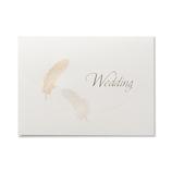 G.C.PRESS カード 羽根 005-84 WEDDING