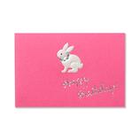G.C.PRESS ミニカード 011−42 ウサギ BIRTH│カード・ポストカード ミニカード