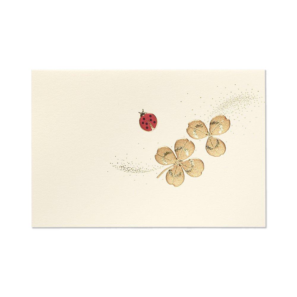 G.C.PRESS ミニカード 011-45 Ladybird テントウムシ 多目的│カード・ポストカード バースデー・誕生日カード