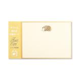 G.C.PRESS 付箋カード  020-01 ハリネズミ