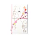G.C.PRESS 祝儀袋 御祝 どうぶつ 短冊付 040-57 ピンク