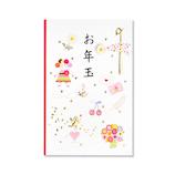 【年賀用品】 G.C.PRESS ポチ袋 067−47 プレジール お年玉  ピンク 3枚入