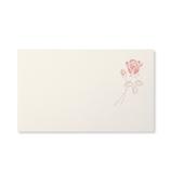 G.C.PRESS ミニメッセージカード 077-33 ローズタンドル パール