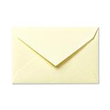 G.C.PRESS ミニメッセージカード用封筒 079-10 ペールイエロー│カード・ポストカード メッセージカード