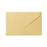 G.C.PRESS ミニメッセージカード用封筒 079-53 イエローゴールド