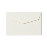 G.C.PRESS ミニメッセージカード用封筒 079-75 アンリュバンドゥー 白