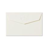G.C.PRESS ミニメッセージカード用封筒 079-75 アンリュバンドゥー 白│封筒・はがき 洋封筒