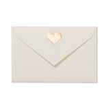 G.C.PRESS ミニメッセージカード用封筒 079-81 ハート トゥ ハート