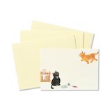G.C.PRESS ふみ揃えセット 086−00 ウチの猫│レターセット・便箋 レターセット