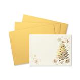 【クリスマス】 G.C.PRESS ふみ揃えセット クリスマスツリー 087−00