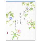 G.C.PRESS 紙司撰 便箋 花の便箋 257-24 夏空の小道 タテ罫