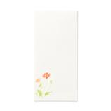 G.C.PRESS 紙司撰 封筒 261-07 花の封筒 四季の散歩道・紅