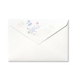 G.C.PRESS 封筒 洋形2号 308−43 アン ジュール ド フルール│封筒・はがき 洋封筒