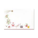 【クリスマス】 G.C.PRESS 封筒 プレジール ドゥ ノエル 409−55