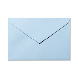 G.C.PRESS カラー封筒 洋1 5枚  565-21 スカイブルー