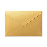 G.C.PRESS G.C.PRESS カラー封筒 洋1 5枚 565−24 ゴールド