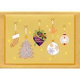 【クリスマス】 G.C.PRESS クリスマスミニカード 742−04 クリスマスオーナメント