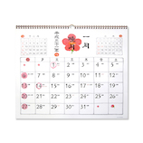 【2019年版・壁掛】 G.C.PRESS カレンダー 和風四季歳々 壁掛 特大 800-82