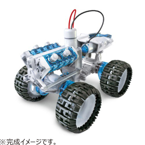エレキット(ELEKIT) 4WD燃料電池カー JS-7903│工作用品 スノードームキット