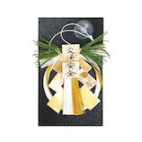 【年賀用品】 木乃札飾りミニ