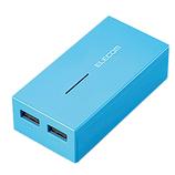 エレコム スマートフォン・タブレット用バッテリー 6030BU ブルー