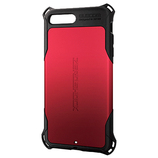 【iPhone7Plus】エレコム 5.5ゼロショック LZERORD レッド