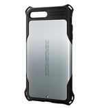 【iPhone7Plus】エレコム 5.5ゼロショック LZEROSV シルバー