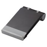 エレコム スマートフォン用コンパクトスタンド P-DSCMPBK ブラック