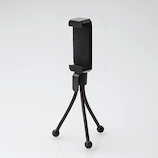 エレコム スマートフォン用 ミニ三脚 P-STMBK ブラック