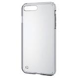 【iPhone8Plus/7Plus】 エレコム ハイブリッドケース PM-A17LHVCCR クリア
