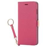 【iPhone8Plus/7Plus】 エレコム ソフトレザーカバー PM-A17LPLFJPND ピンク