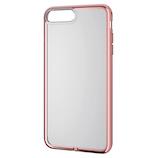 【iPhone8Plus/7Plus】 エレコム ソフトケース サイドメッキ PM-A17LUCTMPN ピンク