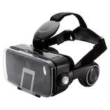 エレコム(ELECOM) VRグラス ヘッドホン一体型タイプ P-VRGEH01BK ブラック