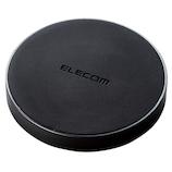 エレコム Qi規格対応ワイヤレス充電器 W-QA02BK ブラック