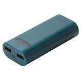 エレコム(ELECOM) モバイルバッテリー DE-M01L-6400BU ブルー