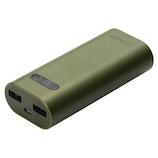 エレコム(ELECOM) モバイルバッテリー DE-M01L-6400 カーキ