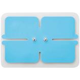 エレコム エクリア リフリー 専用ゲルパッド(ワイドパッド) HCM-P01G3BU ブルー (一般医療機器)