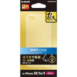 【iPhoneSE/5s/5】 エレコム ソフトケース 極み PM-A18SUCTCR クリア
