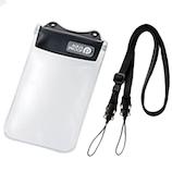 エレコム スマートフォン用防水・防塵ケース(オールクリアタイプ) P-WPSAC01BK ブラック