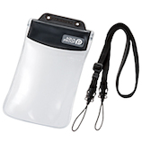 エレコム スマートフォン用防水・防塵ケース(オールクリアタイプ) P-WPSAC02BK ブラック