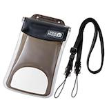 エレコム スマートフォン用防水・防塵ケース(水没防止タイプ) P−WPSF02BK ブラック