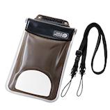 エレコム スマートフォン用防水・防塵ケース(水没防止タイプ) P-WPSF03BK ブラック