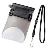 エレコム スマートフォン用防水・防塵ケース(自撮りハンドル付きタイプ) P−WPSS02BK ブラック