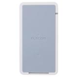 エレコム(ELECOM) Qiワイヤレス充電器 W-QS02WH ホワイト