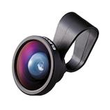 エレコム 自分撮りレンズ 0.4×超広角タイプ SL04BK ブラック│携帯・スマホアクセサリー
