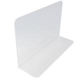 アクリサンデー アクリルL型仕切板 AS-240 240×75×150×2mm 透明