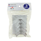 アクリサンデー パネルジョイント L型 3ミリ厚用 4個入り│樹脂・プラスチック その他 樹脂・プラスチック